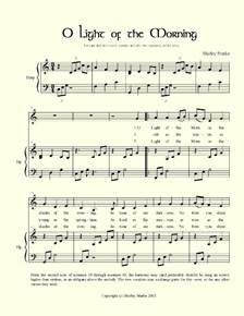 Sheet Music for Harp and Voice – Christian Songs, Hymns, Irish Songs