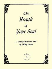 The Breath of Your Soul, song by Shirley Starke
